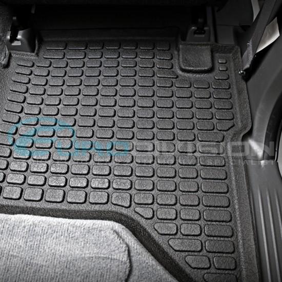 Toyota Hilux 2012+ SR SR5 Rubber Interior Floor Mats