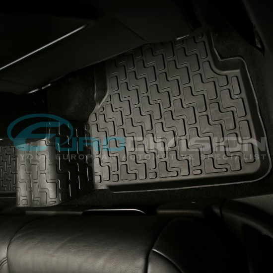 Volkswagen Tiguan Rubber Interior Floor Mats 2008 to 2018
