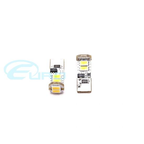 Volkswagen Golf MKV Day Running Lights Premium White Error Free LED Bulbs GTI R32 TDI FSI