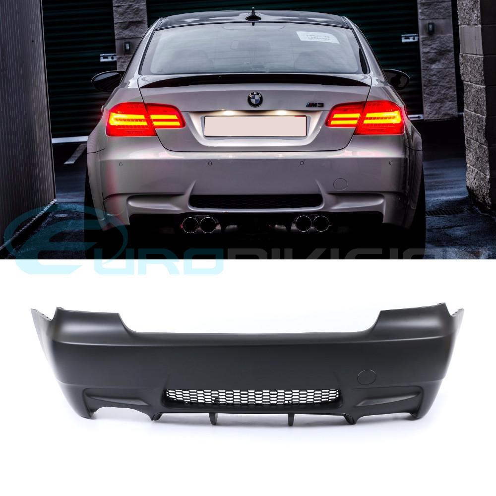 Bmw M3 Style Rear Bumper For E92 E93 320i 323i 325i 335i Quad