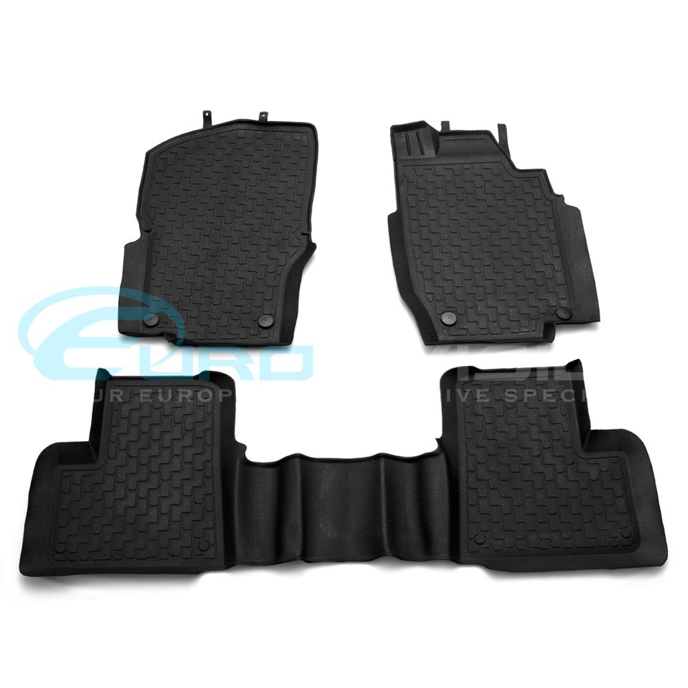 Mercedes ml class w166 rubber interior floor mats ebay for Mercedes benz ml350 rubber floor mats